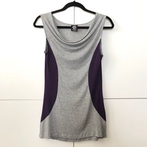 2/25 Slouched neckline sleeveless top